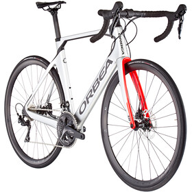 Orbea Orca Aero M30Team, silver/bright red/carbon